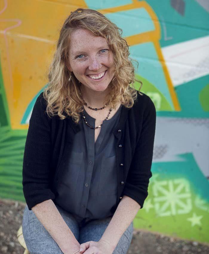 Rebecca Gould, Development & Marketing Director at SOS Outreach