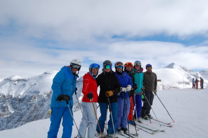 Skiing at Telluride
